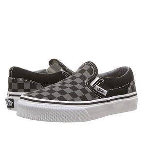 Vans Classic Slip-On Checkerboard Black/Pewter 2.0